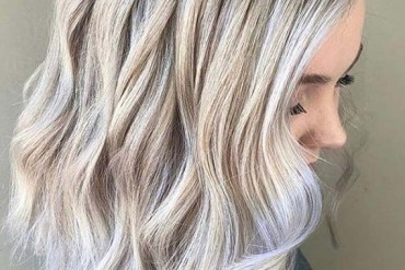 Fantastic Ice Blonde Hair Color and Styles for Ladies in 2020