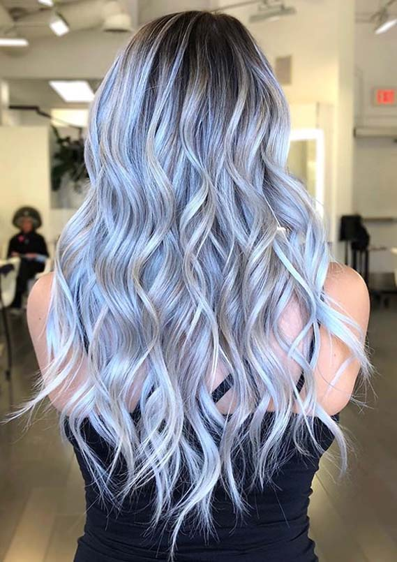 Fantastic Iced Lavender Hair Color Trends for Women 2020