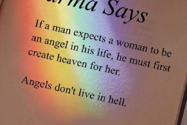 Angle's Don't Live in Hell - Best Angel Quotes