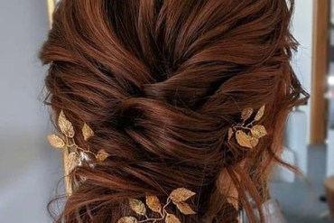 Gorgeous Bridal Updo Hairstyles Trends for Girls in 2020
