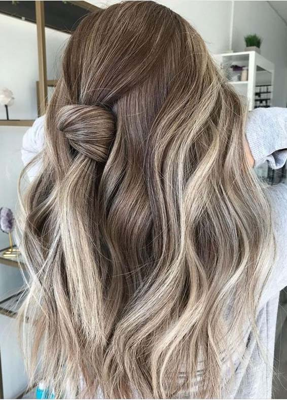 Perfect Knotted Hair Styles for Long Hair to Show Off