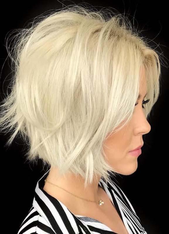 Best Short Wavy Blonde Bob Haircuts for Women in 2021 ...