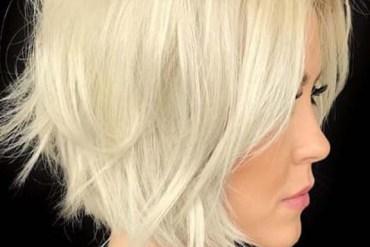 Short Wavy Blonde Bob Haircuts