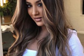 Lovely Style of Balayage Highlights for Long Hair