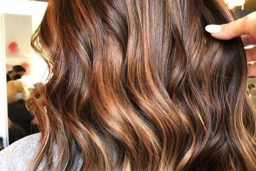 Awesome Caramel Hair Color Highlights