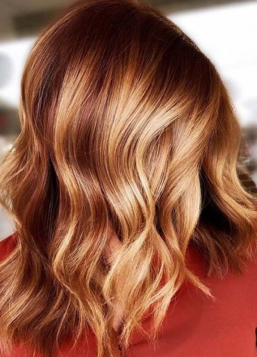 Stunning Red Copper Hair Color Shades