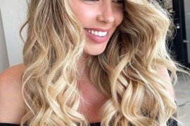 Trendy Curls for Long Blonde Hair Styles