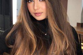 Vibrant Style of Brunette Hair Color for Long Hair
