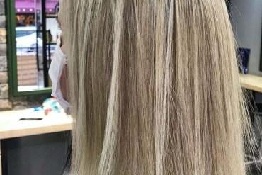 Medium Sleek Straight Haircuts for Girls