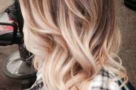Ombre Wavy Hairstyles for Long Hair