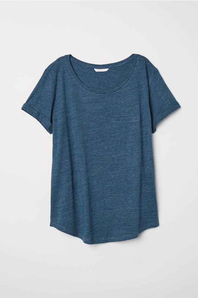 H&M Slub Jersey T-Shirt (2)