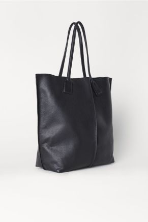 H&M Leather Shopper