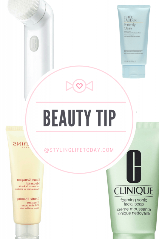 Beauty Tip: How to use a face cleanser
