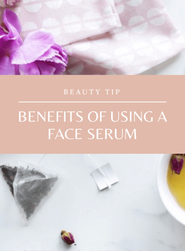 Beauty Tip: The benefits of using a face serum