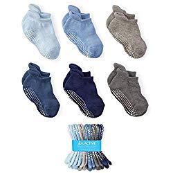 LA Active Baby Toddler Grip Ankle Socks