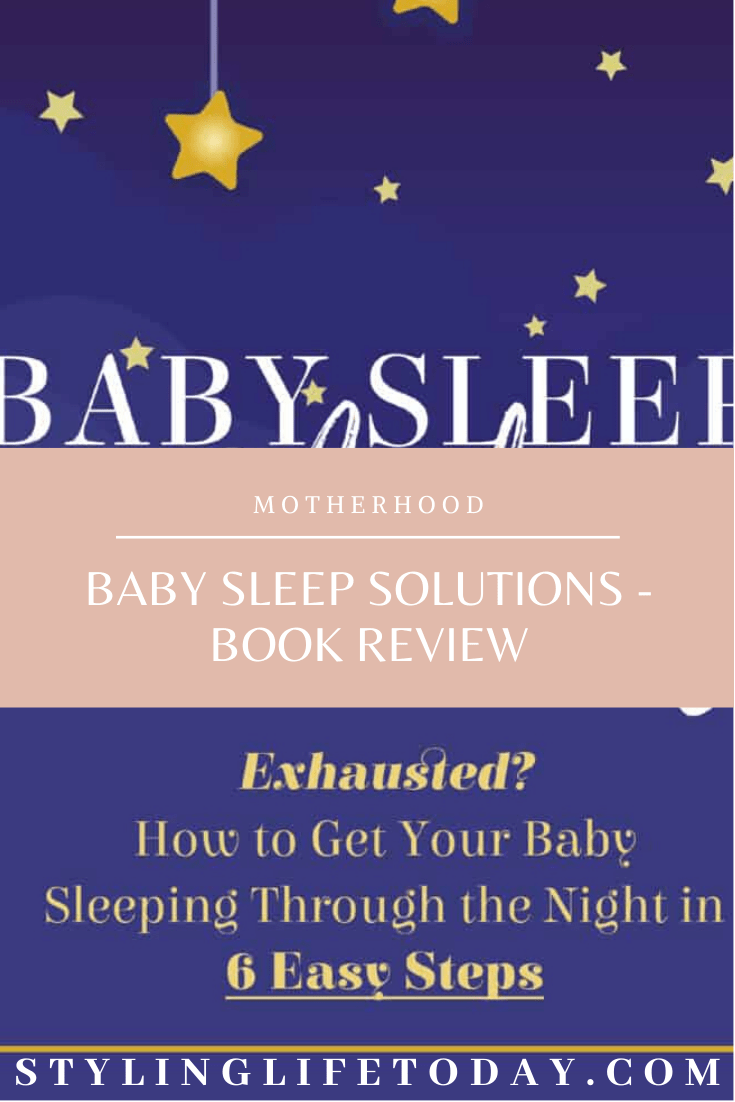 E-Book Review: Baby Sleep Solutions by Katrina Villegas