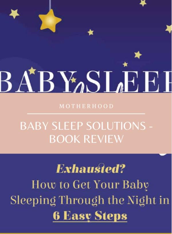 E-Book Review: Baby Sleep Solutions by Katrina Villegas