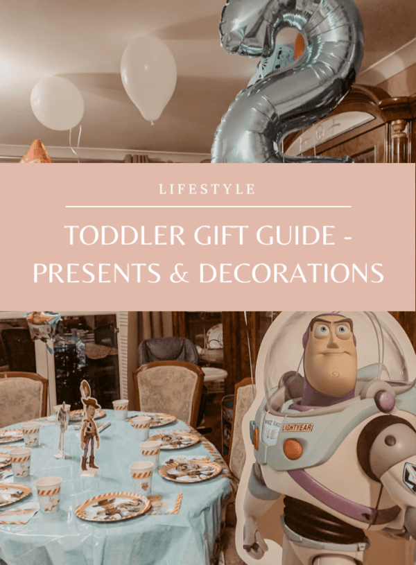 Gift Guide: Birthday Presents For Toddlers