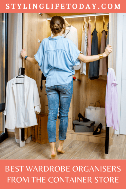 Best Wardrobe Organisers from The Container Store