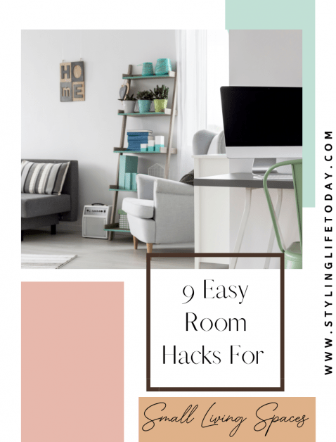 9 Easy Room Hacks For Small Living Spaces