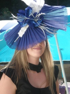 Hats by Sandy A Midnite Obsession $220