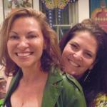 Author Lisa Heidke and blogger Mrs Woog