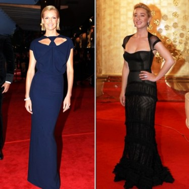Sarah Murdoch and Asher Keddie: Logies 2011