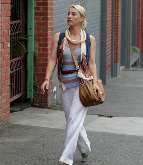 Loving Offspring being back on the TV and coveting Nina's Nancy Bird handbag (details below)