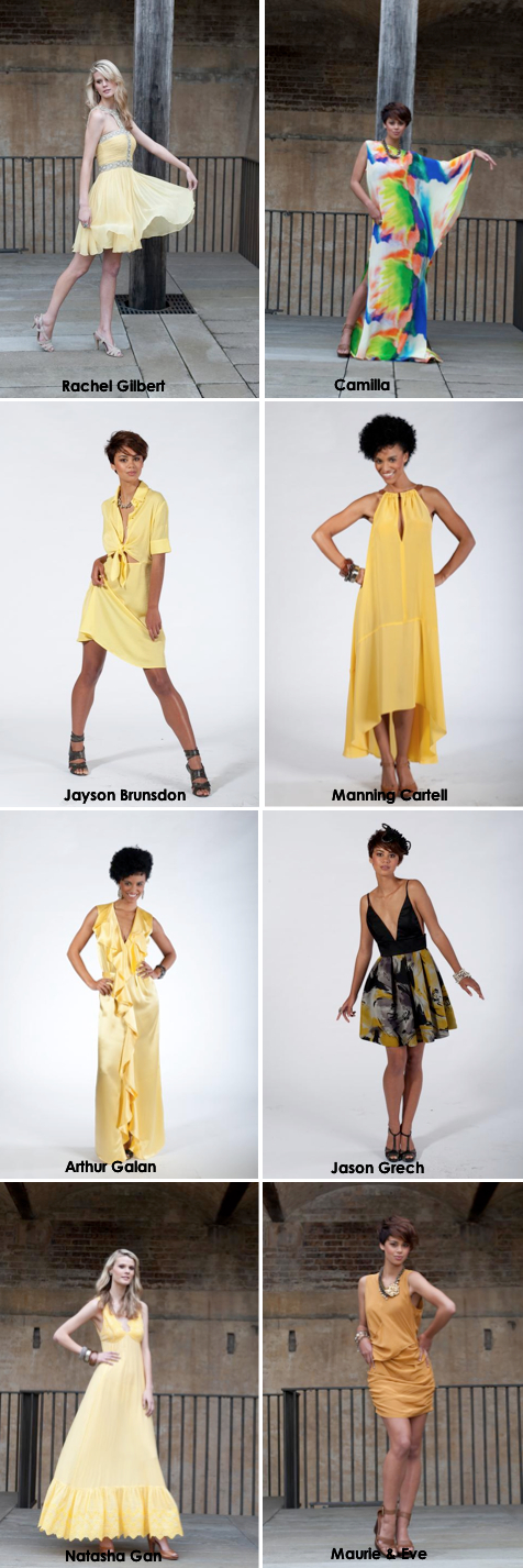 The Designers for Daffodil Day 2011 collection