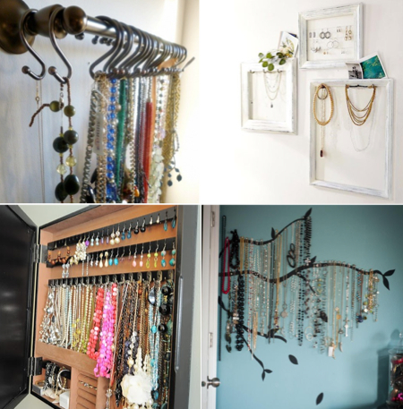 Some accessory storage inspiration from Pinterest