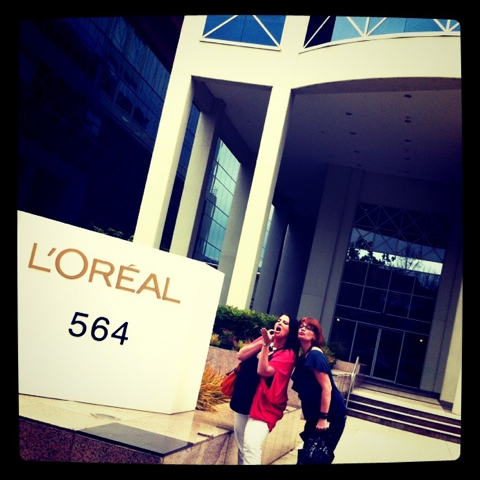 First stop in Melbourne: L'Oreal headquarters with Edenland and Woogsworld