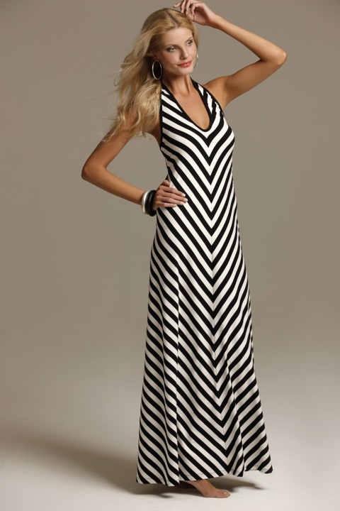 wYse slinky halter dress $250