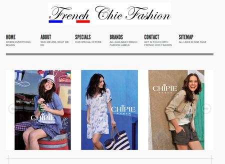 french chic fashion