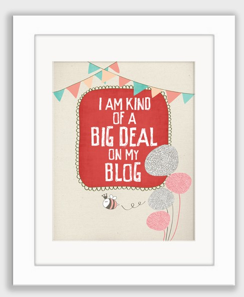 big deal blogging