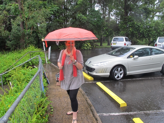 It was Queensland's local government polling day ... dodged the rain to cast my vote