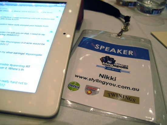Blogging opportunities - speaking at a conference