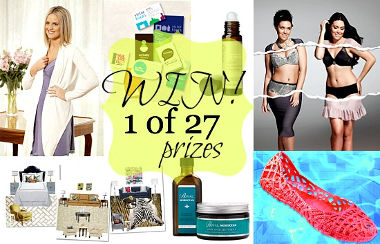 win one of 27 prizes