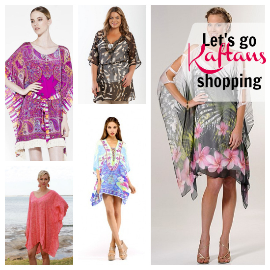 12 kaftans to shop for in summer 2012