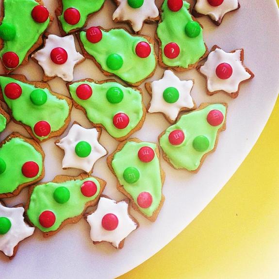 Christmas 2012   Christmas Tree cookies