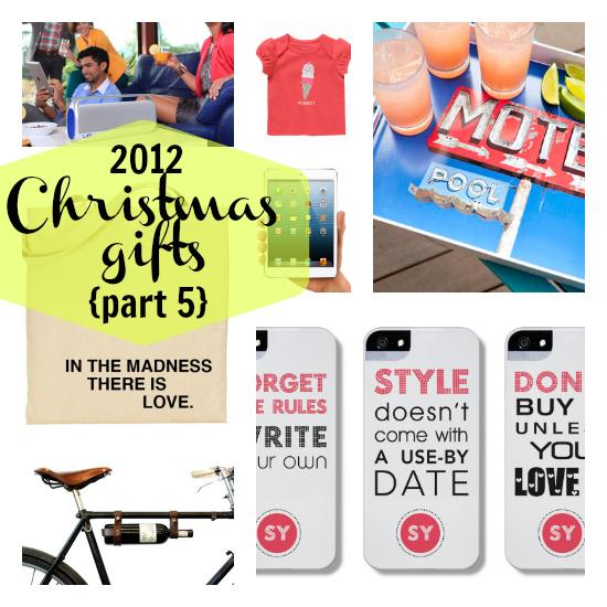 2012 Christmas gifts week 5