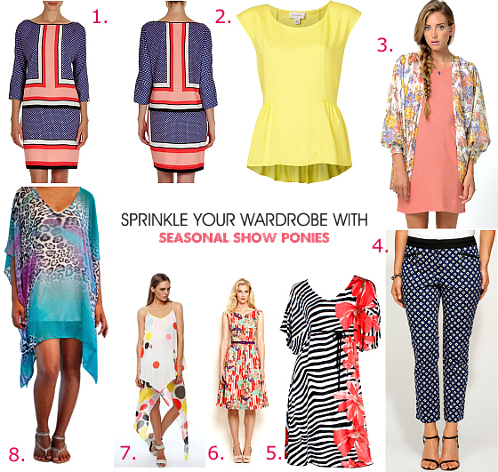 Unlock your style in 14 days | Day 4: Sprinkle your wardrobe with seasonal show ponies | www.stylingyou.com.au