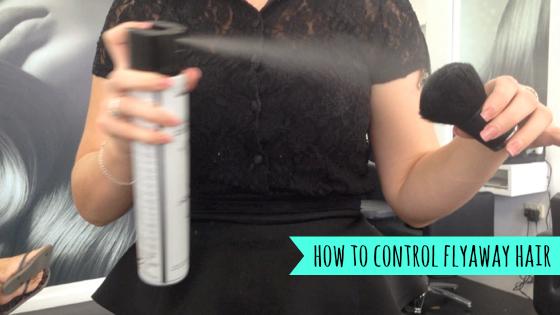 How to control flyaway hair