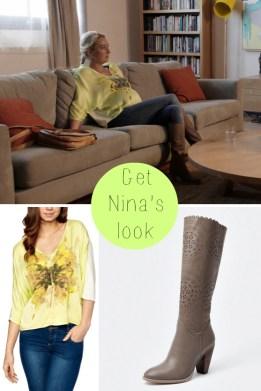 Nina Proudman maternity style