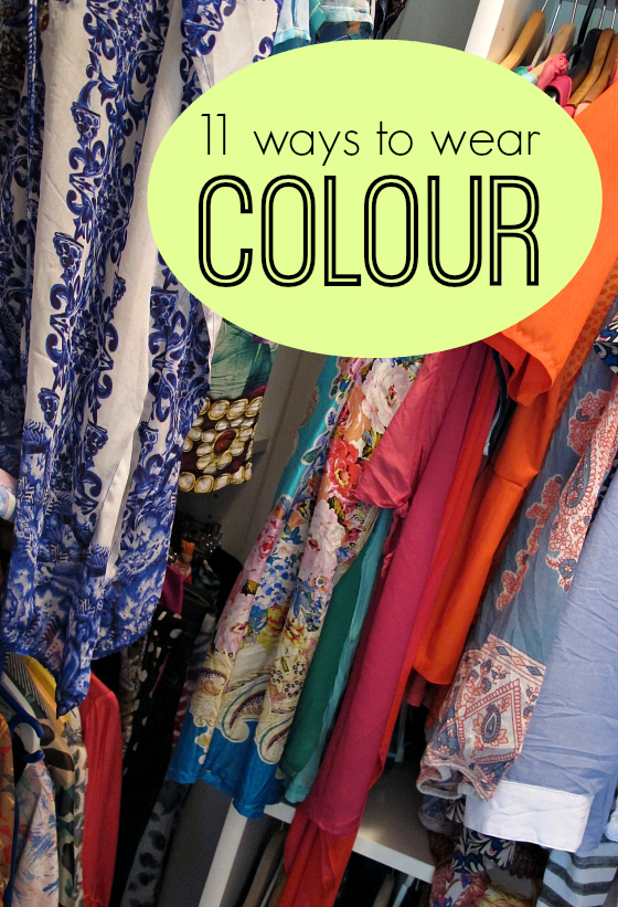 11 ways to wear colour