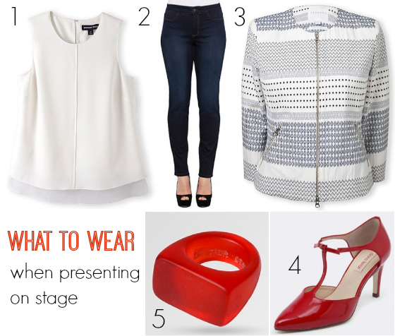 What to wear when presenting