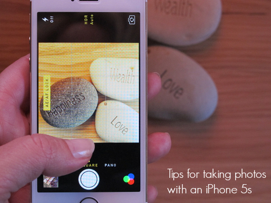 Tips for taking photos with an iPhone 5s