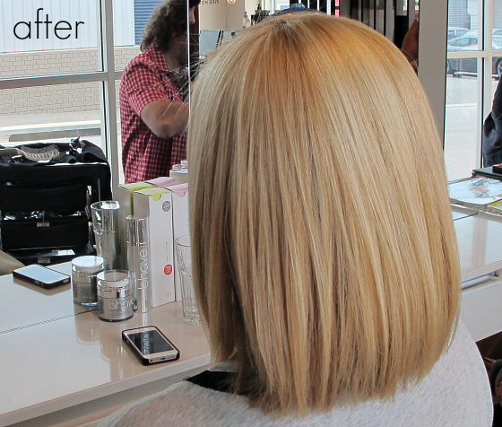 after bhave smoothe keratin treatment