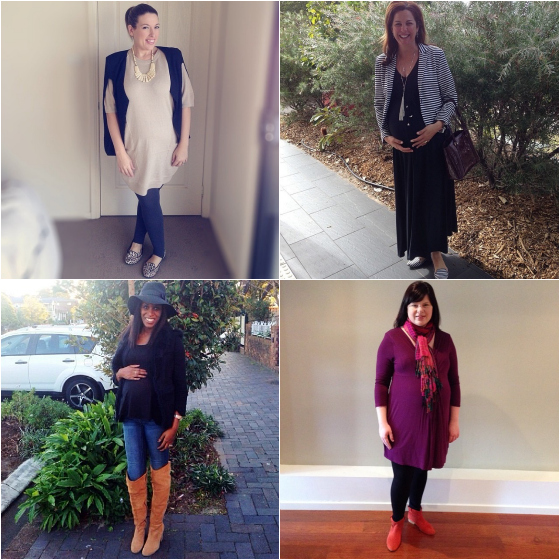 What to wear when you are pregnant maternity chic style from the real women of everydaystyle