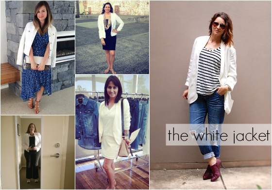 spring 2014 fashion trends  - the white jacket - #everydaystyle