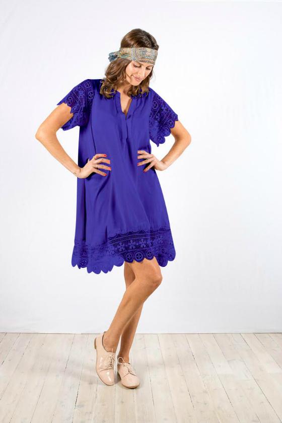 Bohemian Traders Dreamer Dress - blue